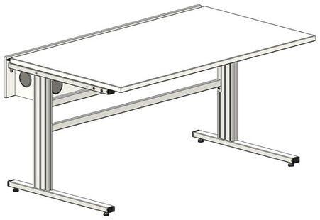 Lucas Nulle Table Multimedia Sybapro Avec Plan De Travail